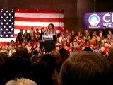 Oprah Winfrey joins Obama in Des Moines (part 2)