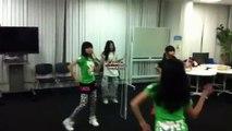 prizmmy tear smile lyrics Runa,Karin,Hina dance practice