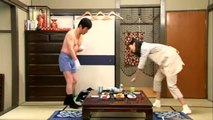 Funny Japanese Show- The paralysed husband HD ★ OPTV