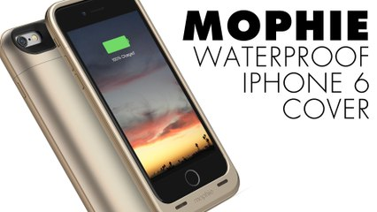 Mophie: cover iPhone waterproof con batteria aggiuntiva