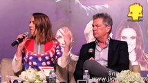 DAVID FOSTER TALK session @ presscon DAVID FOSTER & FRIENDS ASIA TOUR 2016 ; Natalie Imbruglia,Peter
