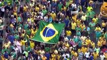 Plusieurs millions de brésiliens dans les rues contre Dilma Rousseff