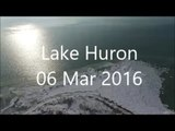Drone Captures Stunning View of Lake Huron