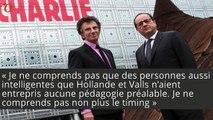 Jack Lang se paie François Hollande et Manuel Valls