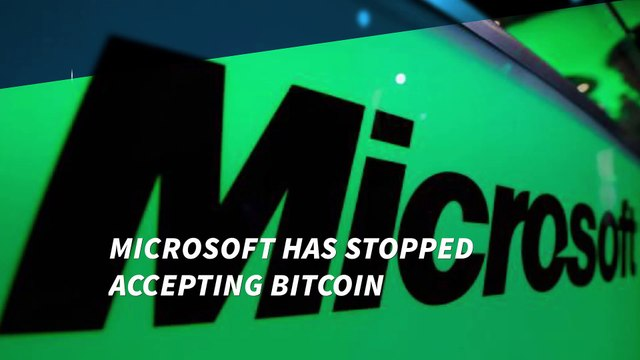 Microsoft no longer accepts Bitcoins in its Windows app store