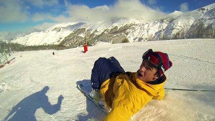 Le Pôle France et le Pôle espoirs Aquitaine invités par la station de ski de Gourette
