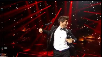 Agustin Galiana (Clem) chante dans Rising Star