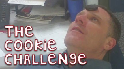 Man Completes The Cookie Challenge!