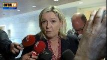 """Hauts-de-France : """"C'est faire fi de l'histoire de nos territoires"""", critique Marine Le Pen"""