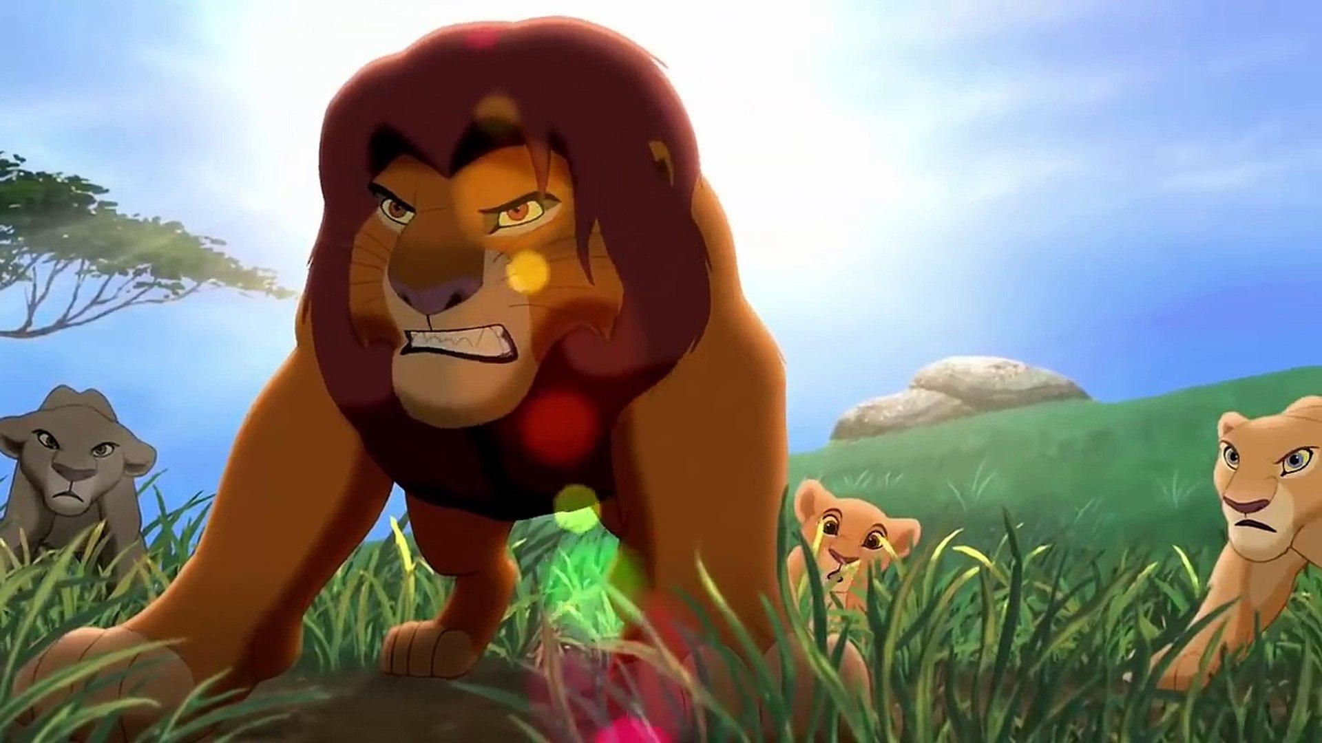 The Lion King 2 Simba S Pride Simba Confronts Zira And Kovu Hd Video Dailymotion