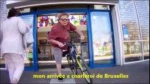 VIDEO GAG  vélo charleroi marcinelle Gerpinnes et environs