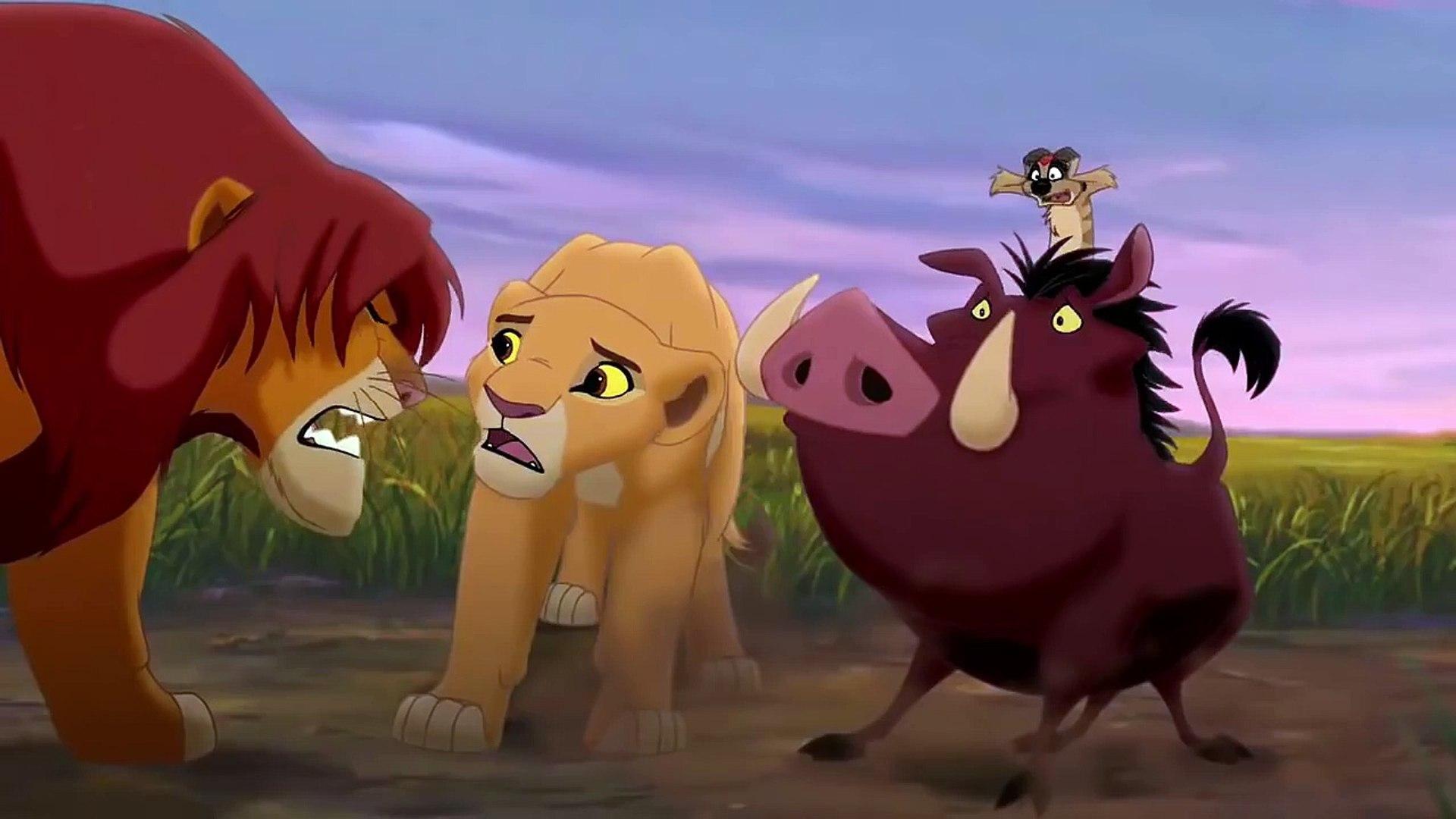 The Lion King 2 Simba S Pride Zira Scratches Kovu Hd Video Dailymotion