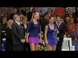 Victoria Azarenka dances on WTA Luxemburg final
