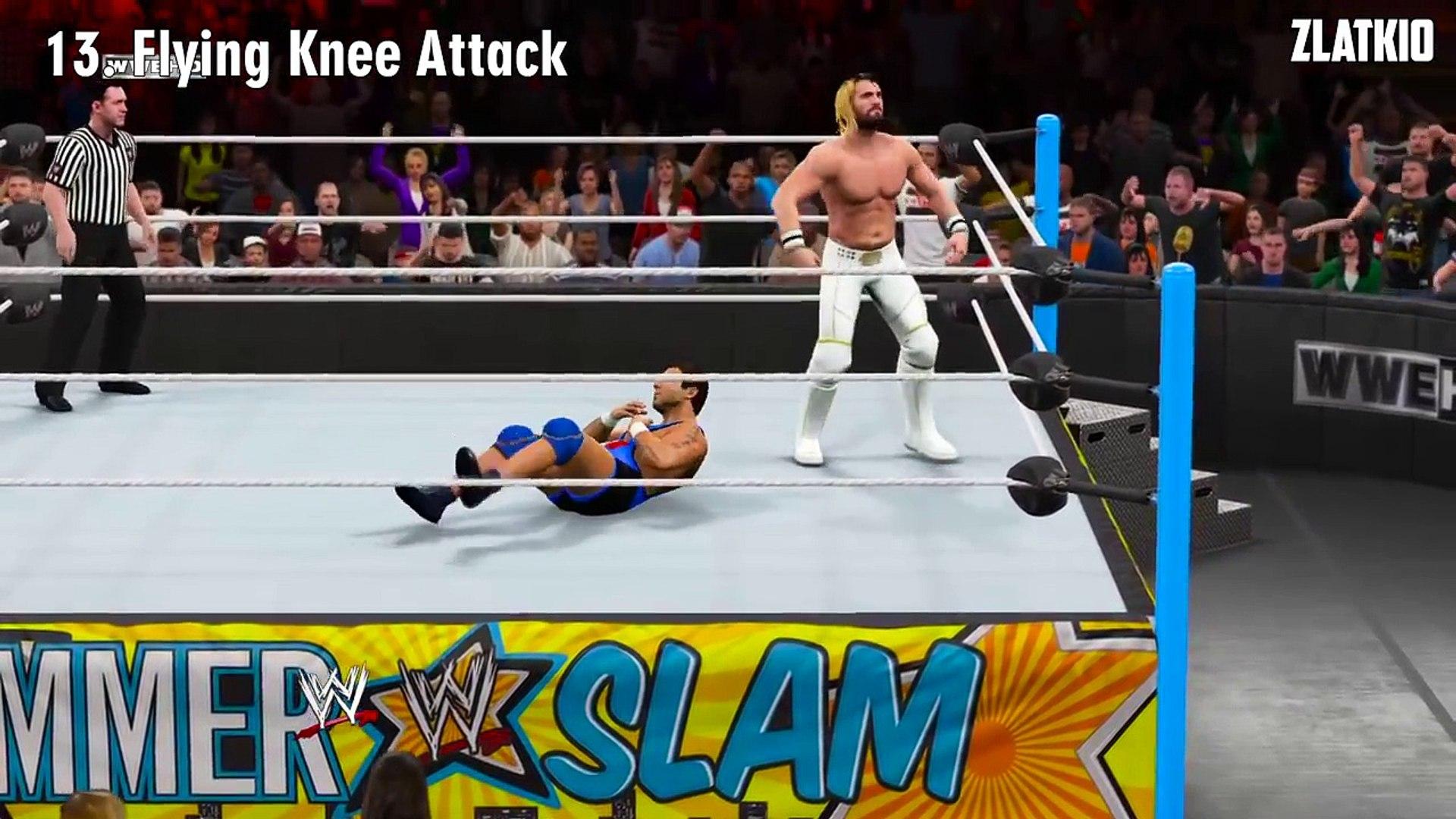 WWE 2K15 Top 20 High Flying Moves | WWE 2K16 Countdown