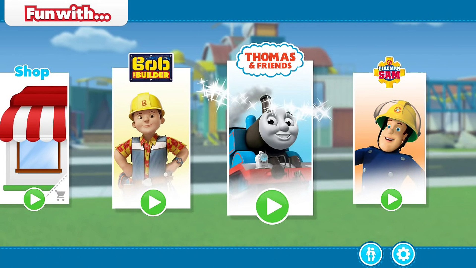 Fun With Activities Feat Thomas Friends Bob The Builder And Fireman Sam Game 4 Kid