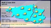[HPyTv Pyrénées] La Météo de Tarbes Pau Bayonne 15 mars 2016