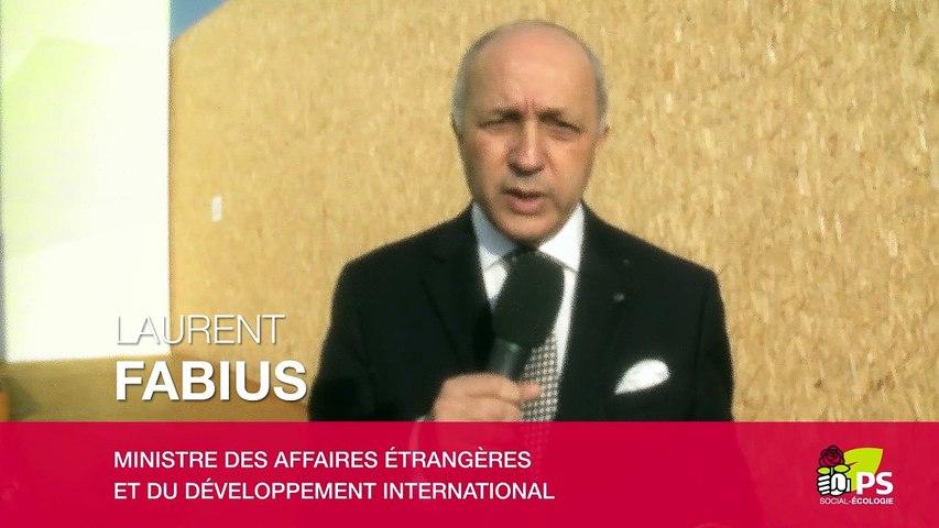 Message Laurent Fabius