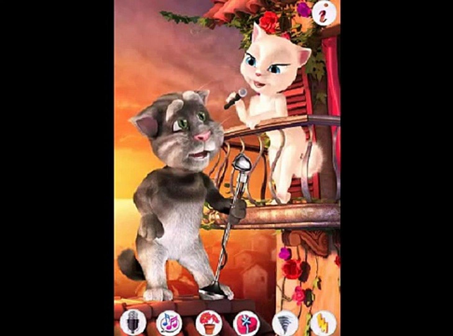 Говорящий Кот Том Любит Анжелу/Tom Loves Angela