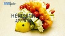 Cuisine : Recette du hérisson apéritif facile et rapide