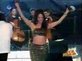 Dana International with Offer Nissim - Sa'ida Sultana (Live, Israeli TV) (1996)