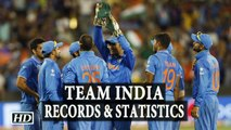 T20 World Cup Team India Records and Statistics