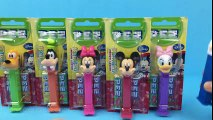 Mickey Mouse Clubhouse Pez Dispensers Pluto Goofy Minnie Mouse Mickey Mouse Daisy Duck Donald Duck  Mickey Mouse Cartoons