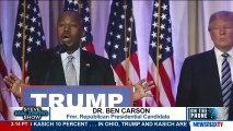 Ben Carson says he has been promised a place in Trump administration