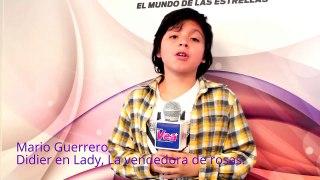 Los pequenos actores de Lady La vendedora de rosas en la Rev