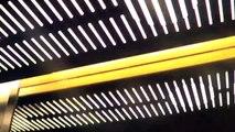 2006 ThyssenKrupp MRL traction elevator @ Västra Järnvägsgatan 7, Stockholm, Sweden.