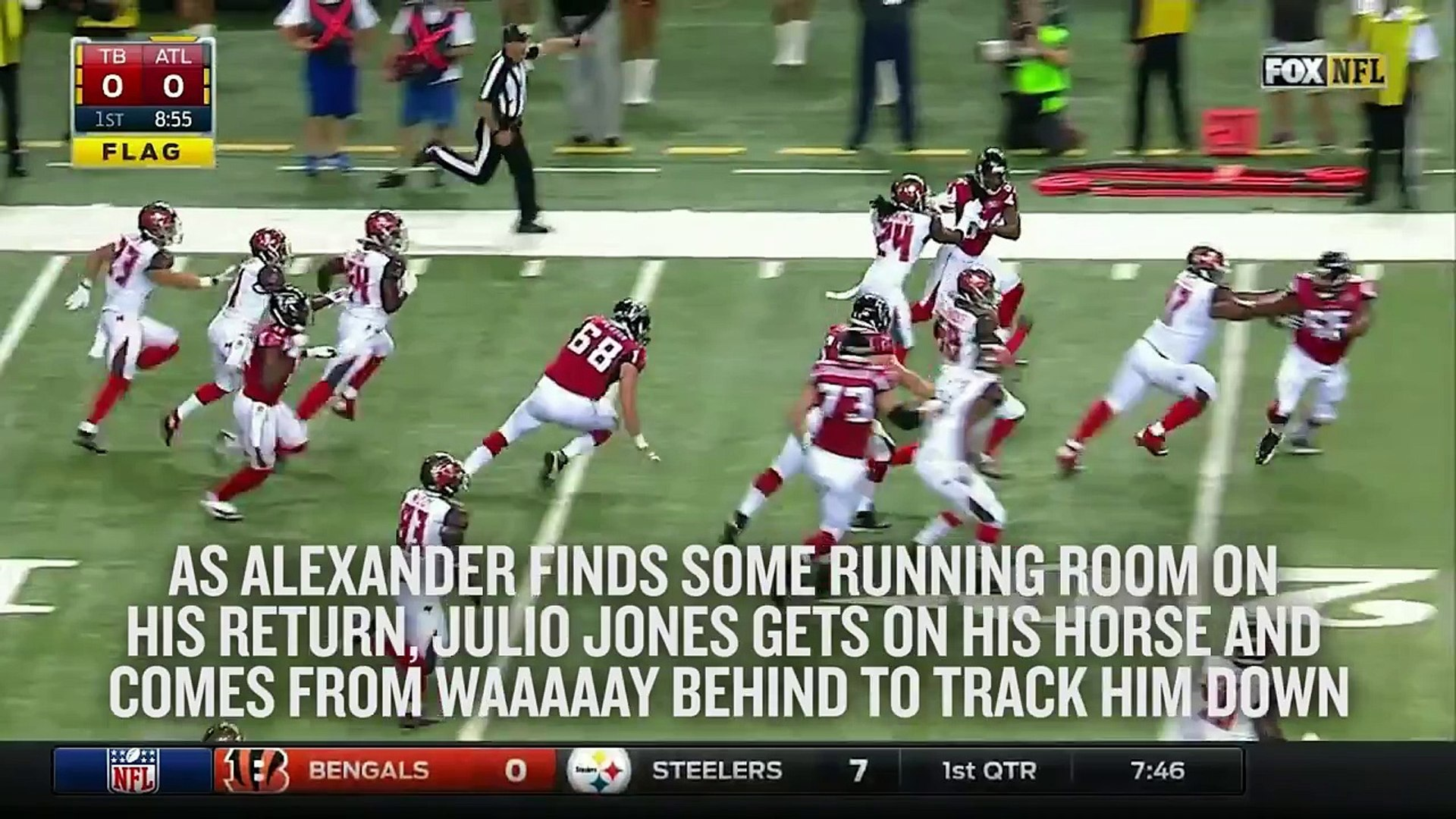 Julio Jones is one of the NFLs fastest players