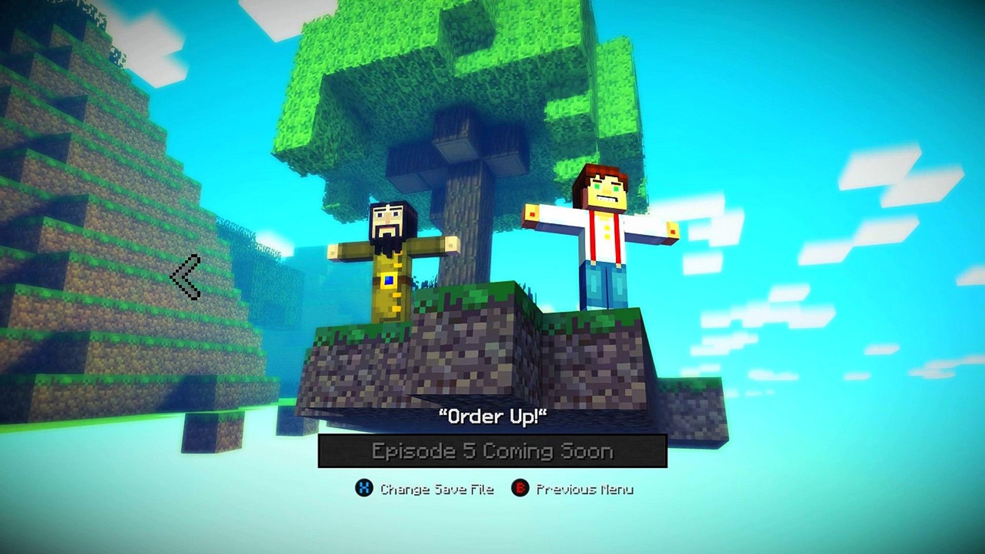 Minecraft Story Mode Reuben Resurrection Episode 5 Dailymotion Video