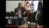 Tunisie: le chef d'Ennahda Rached Ghannouchi épinglé par toute la presse!!! A voir