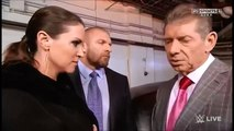 Triple H, Stephanie McMahon & Vince McMahon Backstage Segment WWE Raw 11/24/14