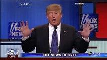 Trump v. Rubio   Trump Defends Size of His Manhood, Little Hands