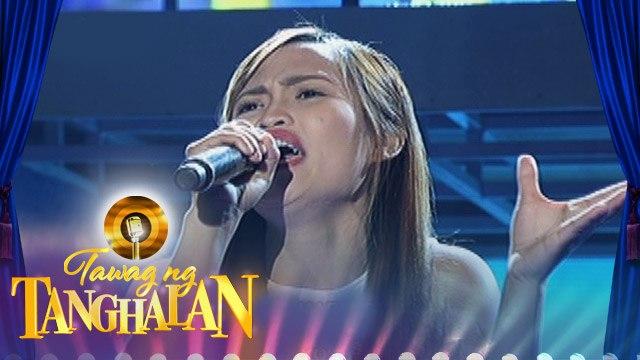"""Tawag ng Tanghalan: Reyssa Luntayao sings """"Isang Linggong Pag-ibig"""""""