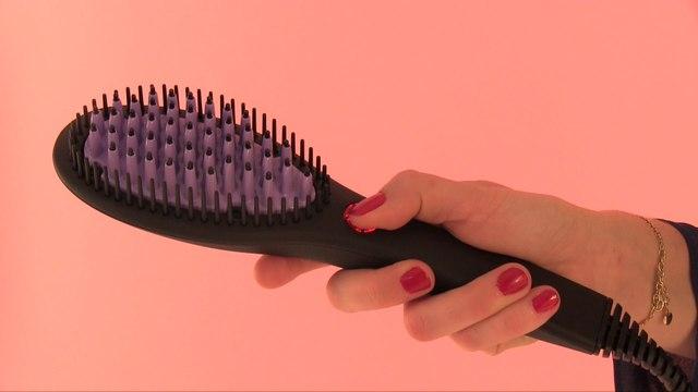 On a testé la brosse Dafni, pour des cheveux lissés en 3 minutes (max) !