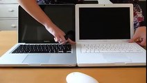 2009 Apple MacBook Pro Unibody Vs 2009 Apple MacBook White - Boot Up Time.