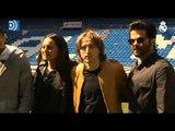 Los actores de Bollywood visitan al Real Madrid
