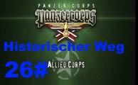 Panzer Corps- Allied Corps Überquerung des Rheins 23 März 1945 #26 Historischer Weg