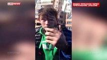 Une jeune femme russe ivre au volant percute 17 voitures