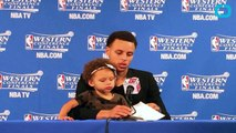 Riley Curry Sings Happy Birthday to Dad