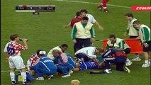 اهداف مباراة فرنسا و كرواتيا 2-1 نصف نهائي كاس العالم 1998