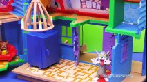 TOM AND JERRY Cartoon Network Tom & Jerry Trick House a Tom and Jerry Video Kid Toy Review  Tom And Jerry Cartoons
