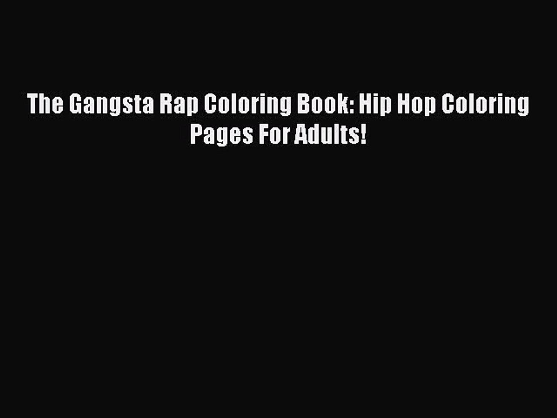 8300 Gangsta Rap Coloring Book Pdf Best HD