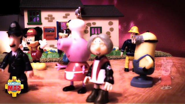 ❤️ Fireman Sam Peppa Pig Postman Pat Full New Long English Episode with Toys. 2015