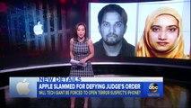Apple Faces Legal Battle Over Unlocking San Bernardino Gunmans iPhone