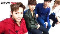 150621 2PM Now Inkigayo backstage : Churros! Churros! Churros!
