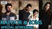 Bollywood Celebrities At The Special Screening Of Kapoor & Sons | Aamir Khan | Anushka Sharma