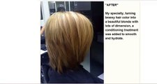 Khepri Pattison Hair Stylist - Featured for the month of July at Stainless Salon