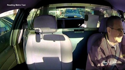 Man Robs Taxi Driver at Gunpoint.In Front of Cop [CAUGHT ON CAMERA]